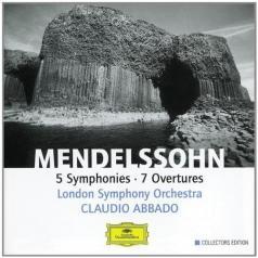 Claudio Abbado (Клаудио Аббадо): Mendelssohn: Symphonies