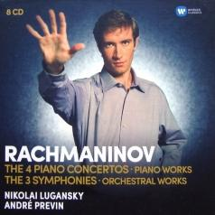 S Rachmaninov (Сергей Васильевич Рахманинов): Orchestral Works: The Piano Concertos, The Symphonies, Rhapsody On A Theme By Paganini, Variations, Preludes, Moments Musicaux