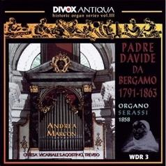 Da Bergamo (Альберто да Бергамо): Orgelwerke