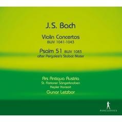 Kepler Konsort (Иоганн Кеплер): Violin Concertos, Psalm 51 Bwv 1083, Cantata, Bwv 182