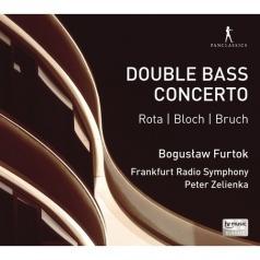 Boguslaw Furtok (БогуславФурток): Nino Rota/Ernest Bloch/Max Bruch - Kontrabass-Konzerte/Boguslaw Furtok, Frankfurt Radio Symphony, Peter Zelienka