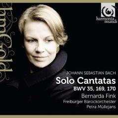 Bach / Solo Cantatas Bwv 35, 169, 170/Bernarda Fink, Freiburger Barockorchester, Petra Mullejans