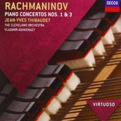 Vladimir Ashkenazy (Владимир Ашкенази): Rachmaninov: Piano Concertos 1 & 3