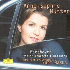 Anne-Sophie Mutter (Анне-Софи Муттер): Beethoven: Violin Concerto; Romances
