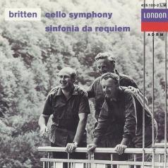 Benjamin Britten (Бенджамин Бриттен): Britten: Cello Symphony, Symph.Da Requiem