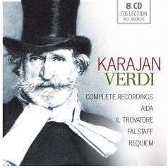 Karajan (Герберт фон Караян): Complete Recordings: Aida / Il Trovatore / Falstaff / Requiem