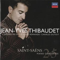 Jean Yves Thibaudet (Жан Ив Тибоде): Saint-Saens: Piano Concertos Nos.2 & 5 etc
