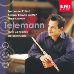 Emmanuel Pahud (Эммануэль Паю): Telemann: Flute And Other Instruments Concerto