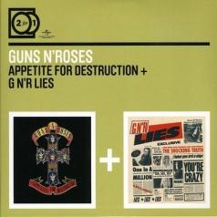 Guns N' Roses (Ганз н Роузес): Appetite For Destruction/ G N'R Lies