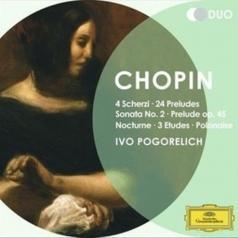 Ivo Pogorelich (Иво Погорелич): Chopin: 4 Scherzi; 24 Preludes; Sonata No.2…