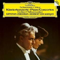Herbert von Karajan (Герберт фон Караян): Schumann/ Grieg: Piano Concertos