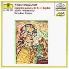 Herbert von Karajan (Герберт фон Караян): Mozart: Symphonies Nos.40 & 41
