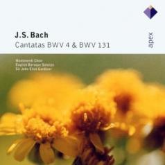John Eliot Gardiner (Джон Элиот Гардинер): Cantatas Bwv Nos 4 & 131