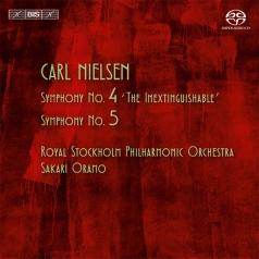 "Carl Nielsen (Карл Нильсен): Symphony No. 4, ""The Inextinguishable""; Symphony No.5"