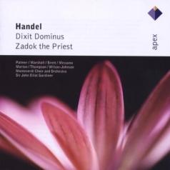 John Eliot Gardiner (Джон Элиот Гардинер): Dixit Dominus & Zadok The Priest