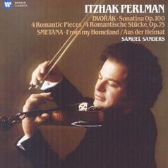 Itzhak Perlman (Ицхак Перлман): Sonatina; 4 Romantic Pieces / From My Homeland - Perlman, Sanders