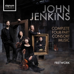 Fretwork (Фретворк): Jenkins: Four-Part Consort Music