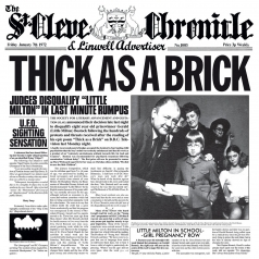 Jethro Tull (Джетро Талл): Thick As A Brick (40TH ANNIVERSARY)