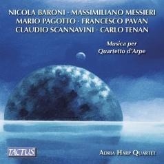 Adria Harp Quartet (Квартет Адрия): Musica Per Quartetto D'Arpe