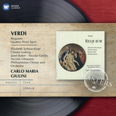 Carlo Maria Giulini (Карло Мария Джулини): Requiem & Four Sacred Pieces