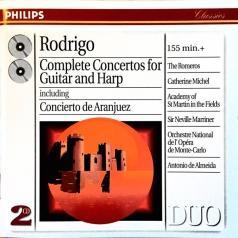 Academy Of Ancient Music Chamber Ensemble (Академия Древней музыки): Rodrigo: Concertos For Guitar & Harp