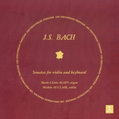 Auclair Michele (Мишель Оклер): Bach: Sonatas For Violin And Keyboard (Organ)