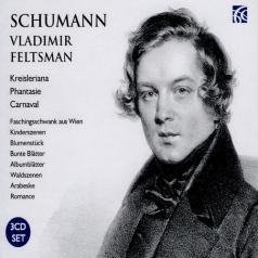 Vladimir Feltsman (Владимир Фельцман): Schumann: Works For Piano