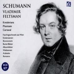 Vladimir Feltsman (Владимир Фельцман): Schumann: Works For Piano