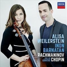 Alisa Weilerstein (Алиса Вайлерштайн): Rachmaninov, Chopin Cello Sonatas