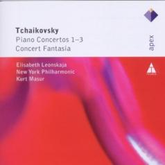 Elisabeth Leonskaja (Елизавета Леонская): Piano Concertos Nos 1 - 3 & Concert Fantasia