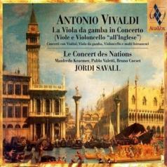 Jordi Savall (Жорди Саваль): Vivaldi: La Viola da gamba in Concerto