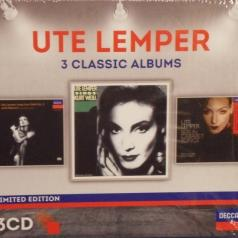 Ute Lemper (Уте Лемпер): 3 Classic Albums