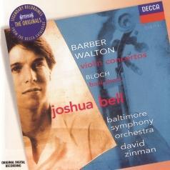 David Zinman (Давид Зинман): Barber/ Walton: Violin Concertos