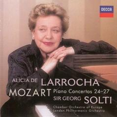 Alicia De Larrocha (Алисия де Ларроча): Mozart: Piano Concertos Nos.24-27