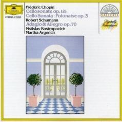Martha Argerich (Марта Аргерих): Chopin: Sonata; Polonaise/ Schumann: Adagio And Allegro