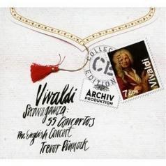 Trevor Pinnock (Тревор Пиннок): Vivaldi: Stravaganza – 55 Concertos