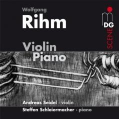 Andreas Seidel (АндреасЗайдель): Music For Violin And Piano