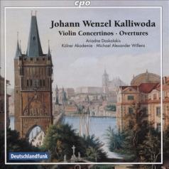 Ariadne Daskalakis (Ариадна Даскалакис): Overtures & Violin Concertinos