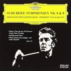 "Herbert von Karajan (Герберт фон Караян): Schubert: Syms Nos.8 ""Unfinished"" & 9 ""The Great"""