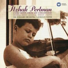 Itzhak Perlman (Ицхак Перлман): Concertos From My Childhood - The Julliard Orchestra / Lawrence Foster
