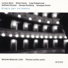 Violin Makarski Michelle: Elogio Per Un'Ombra