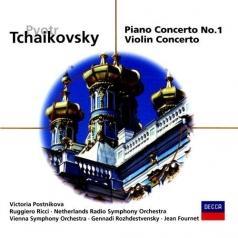 Victoria Postnikova (Виктория Постникова): Tchaikovsky: Piano Concerto No.1/Violin Concerto
