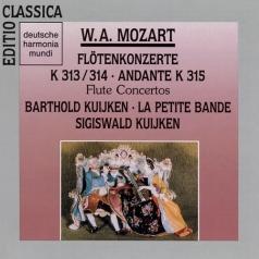 Barthold Kuijken: Flute Concertos