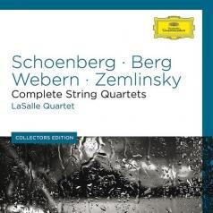 LaSalle Quartet (Ласалль-квартет): Schoenberg/ Berg /Webern - Complete String Quartets