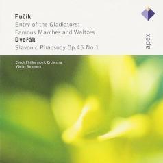 Jiri Formacek: Fucik : Famous Marches & Waltzes & Dvorak : Slavonic Rhapsody