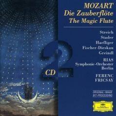 Ferenc Fricsay (Ференц Фричаи): Mozart: Die Zauberflote: Stader/Streich/Otto/Haefl