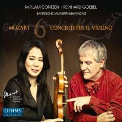 Mirham Contzen (Мирхам Контзен): Mozart: 6 Concerti Per Il Violino