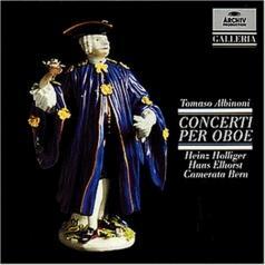 Heinz Holliger (Хайнц Холлигер): Albinoni: Oboe Concertos