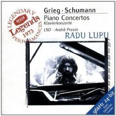 Radu Lupu (Раду Лупу): Grieg / Schumann: Piano Concertos
