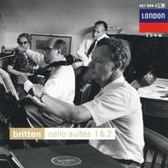 Мстислав Ростропович: Britten: Cello Suites 1 & 2; Sonata for Cello and